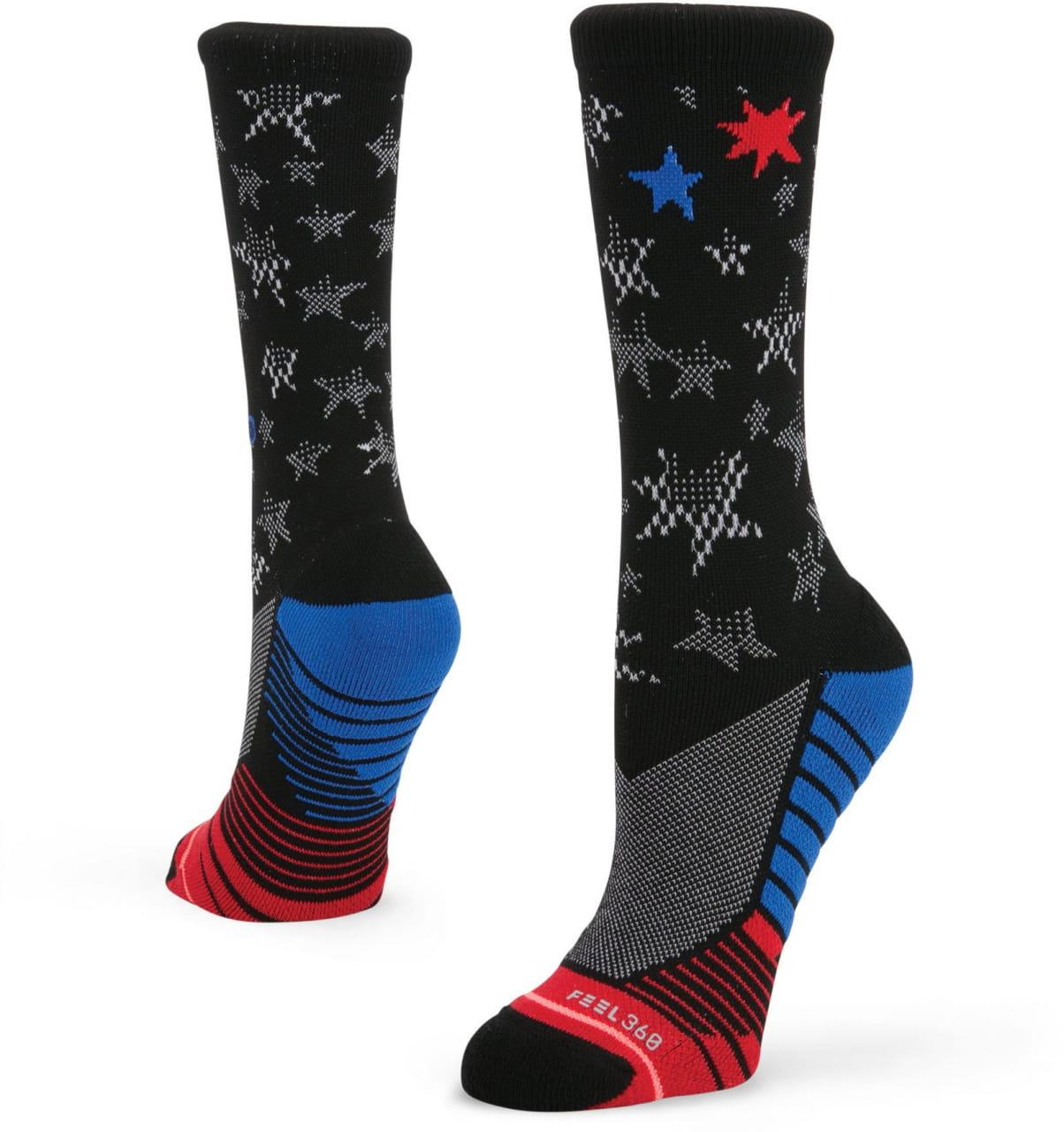 Dámske ponožky Stance Forever Free Blk