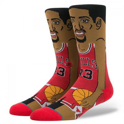 Pánské ponožky Stance S.Pippen Red