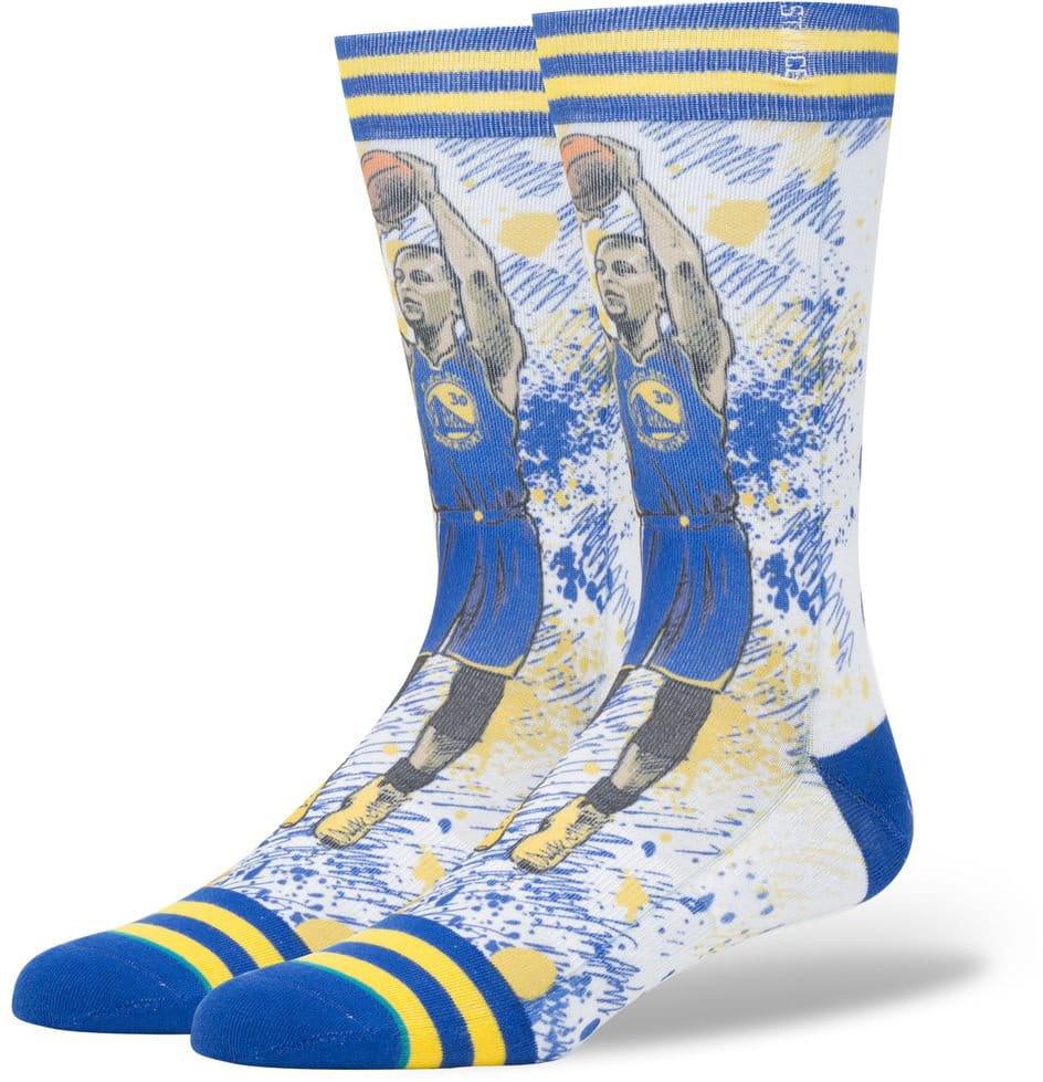Pánske ponožky Stance Tf Curry Blue