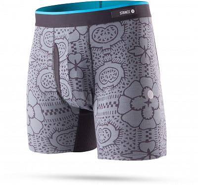 Pánské boxerky Stance Tile Check Bb Grey
