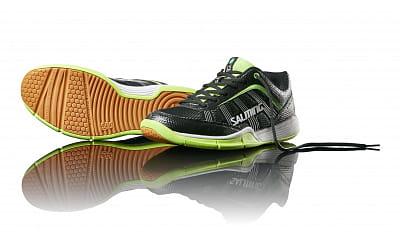 Halová obuv Salming Adder Men Black/Green