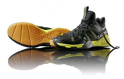 Halová obuv Salming Kobra Mid Black/Yellow