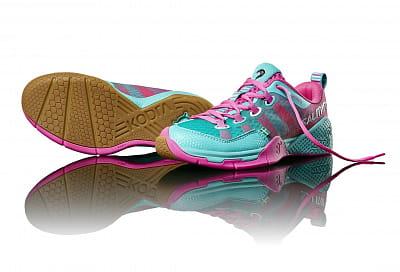 Halová obuv Salming Kobra Women Turquoise/Pink