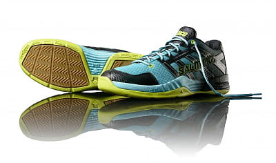 Halová obuv Salming Race X Men Turquoise