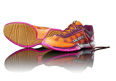 Halová obuv Salming Viper 4 Women Purple/Orange