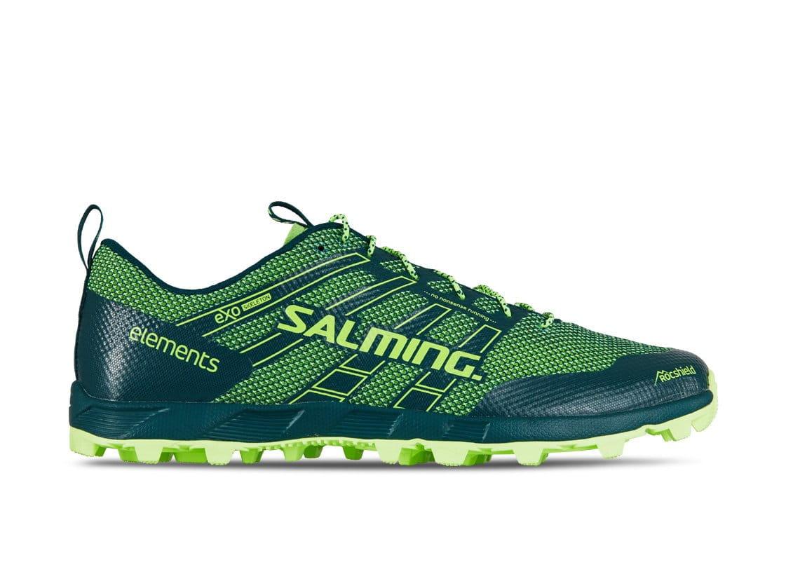 Běžecká obuv Salming Elements 2 Men Deep Teal/Sharp Green