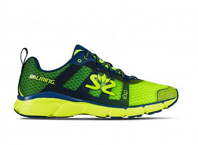 Běžecká obuv Salming enRoute 2 Men Safety Yellow/Poseidon Blue