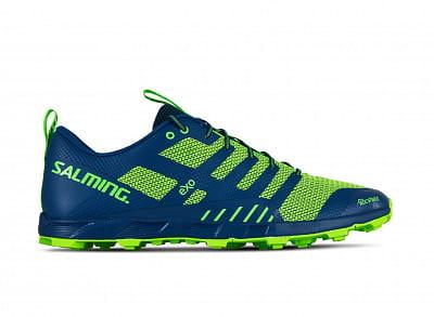 Pánske bežecké topánky Salming OT Comp Men Poseidon Blue/Safety Yellow