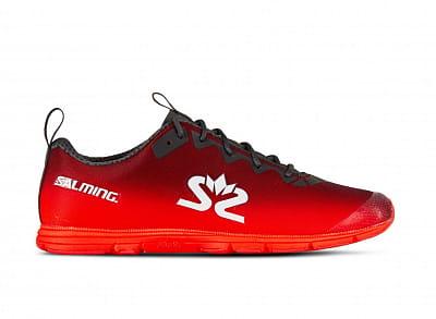 Běžecká obuv Salming Race 7 Women Forged iron/Poppy Red