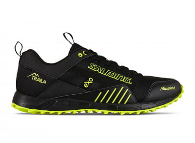 Běžecká obuv Salming Trail T4 Men Black/Safety Yellow