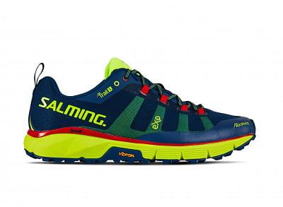 Běžecká obuv Salming Trail 5 Men Poseidon Blue/Safety Yellow