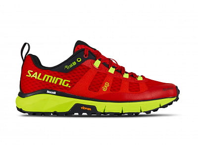 Bežecké topánky Salming Trail 5 Women Poppy Red/Safety Yellow