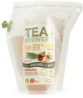 Čaj Grower´s cup Čaj - Ginger & Lemon, 400 ml