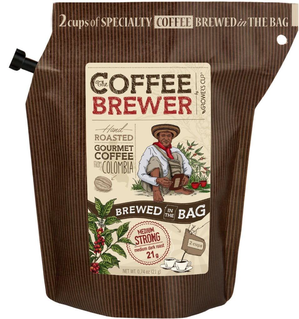 káva Grower's cup Káva - Columbia, 300 ml