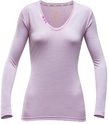 Dámské triko sdlouhým rukávem ze 100% Merino Devold Sukkertoppen Woman Shirt