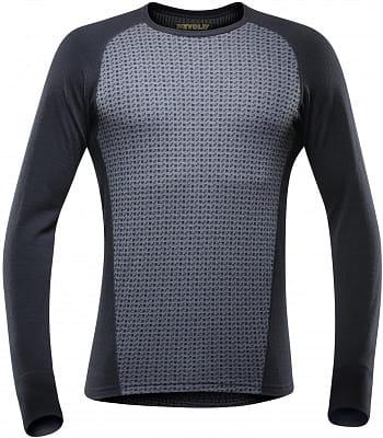 Pánské tričko s dlouhým rukávem ze 100% merino vlny Devold Islender Man Shirt