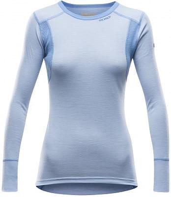 Dámské vlněné triko s dlouhým rukávem Devold Hiking Woman Shirt