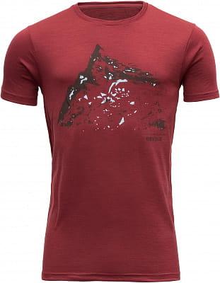 Pánské vlněné tričko Devold Hornindalrokken Man Tee