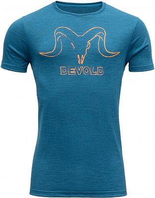 Pánské vlněné tričko Devold Skull Man Tee