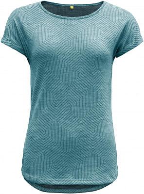 Dámské vlněné tričko Devold Trollstigen Woman Top