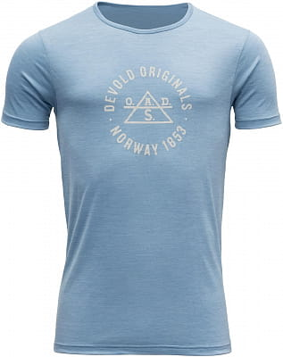 Pánské vlněné tričko Devold Original Man Tee