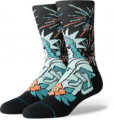 Pánské ponožky Stance Freedom Of Ice Cream Black