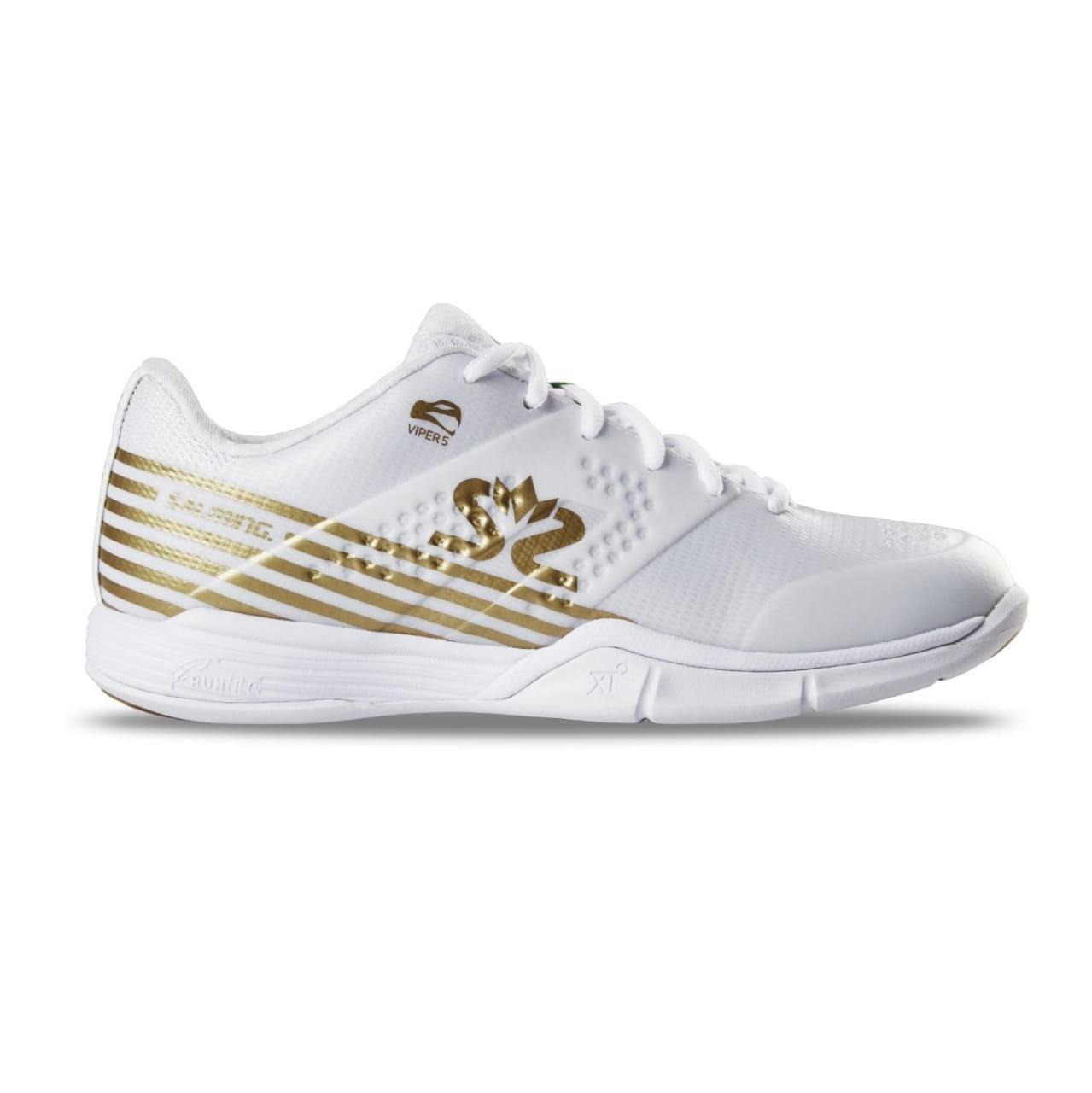 Halová obuv Salming Viper 5 Shoe Women White/Gold