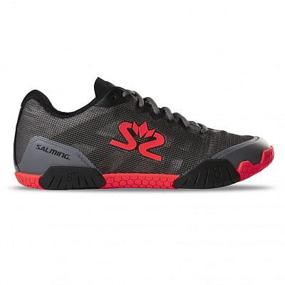 Halová obuv Salming Hawk Shoe Men GunMetal/Red