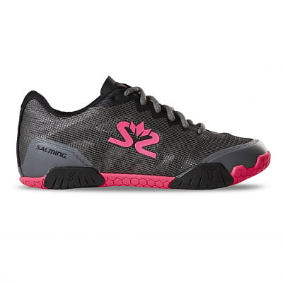 Halová obuv Salming Hawk Shoe Women GunMetal/Pink