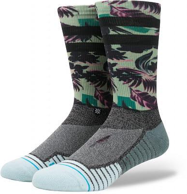 Pánské ponožky Stance Hidden Palms Green