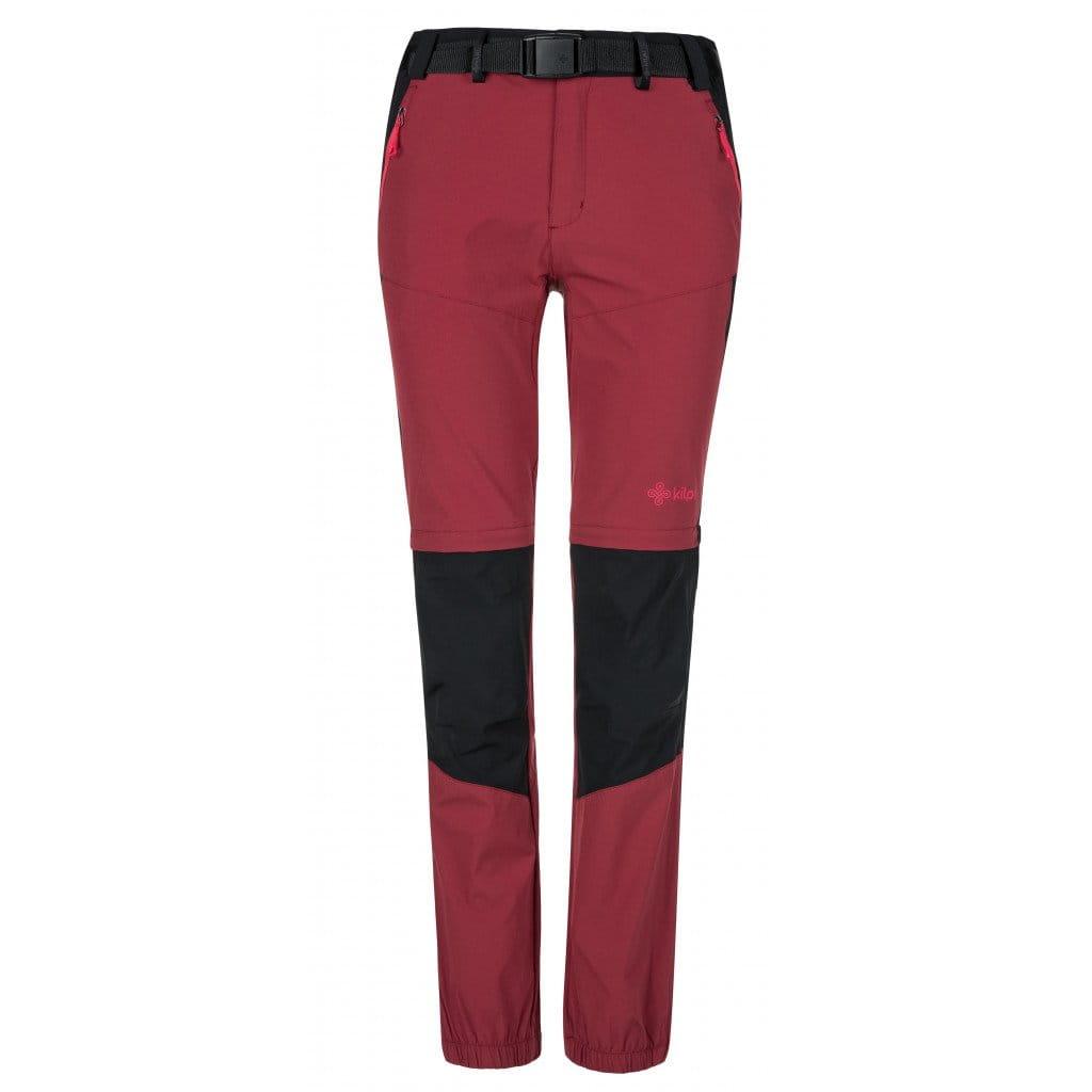 Kalhoty Kilpi Hosio Tmavě Červená