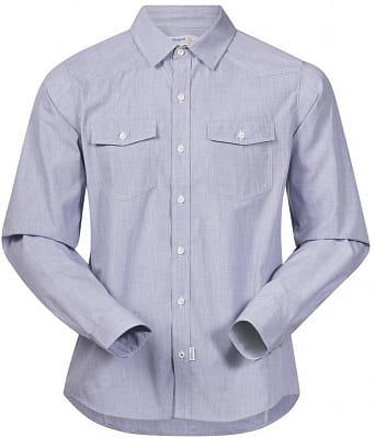 Pánska pohodlná športová košeľa Bergans Justøy Shirt LS