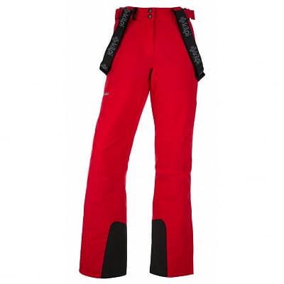 Kalhoty Kilpi Elare Červená