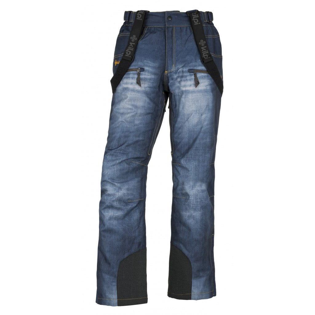 Kalhoty Kilpi Denimo Modrá