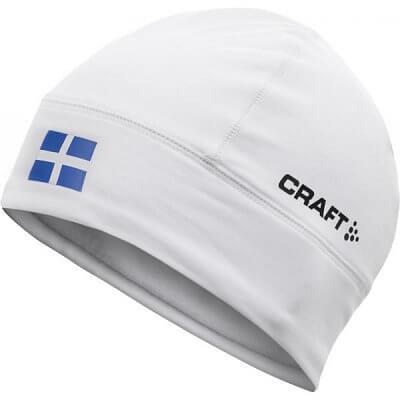 Čepice Craft Čepice Light Thermal Flag - s vlajkou bílá Finsko