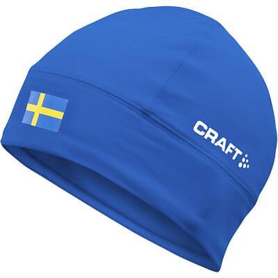 Čepice Craft Čepice Light Thermal Flag - s vlajkou modrá Švédsko