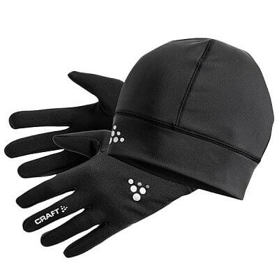 Čepice Craft Set Winter Gift Pack černá