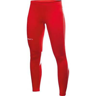 Kalhoty Craft W Kalhoty Club Tights červená