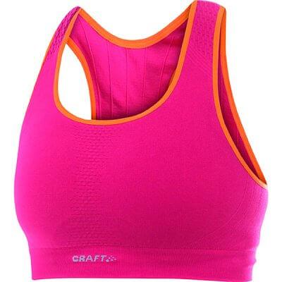 Spodní prádlo Craft Podprsenka Seamless růžová