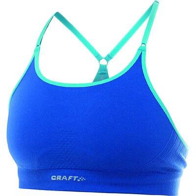 Spodní prádlo Craft Podprsenka Seamless Low modrá