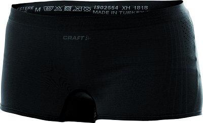 Spodní prádlo Craft W Boxerky Seamless Hot Pant černá