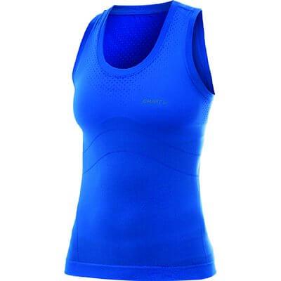 Trička Craft W Nátělník Seamless modrá