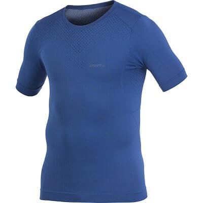 Trička Craft Triko Seamless krátký rukáv modrá