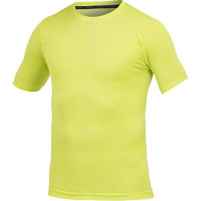Trička Craft Triko Seamless krátký rukáv žlutozelená