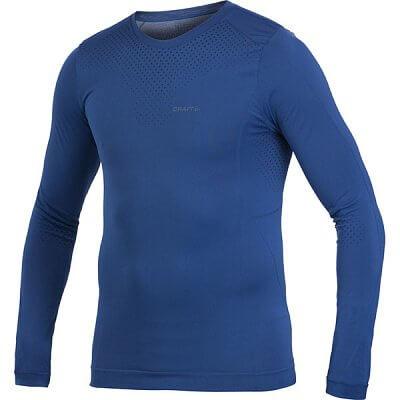 Trička Craft Triko Seamless LS dlouhý rukáv modrá