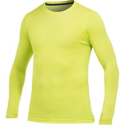 Trička Craft Triko Seamless LS dlouhý rukáv žlutozelená