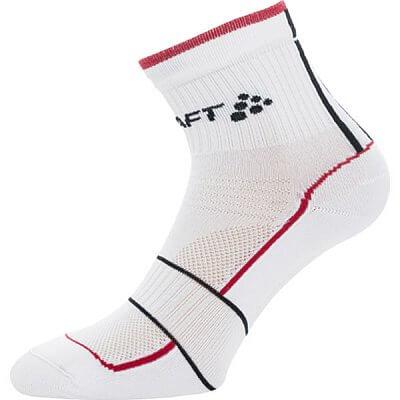 Ponožky Craft Ponožky Grand Tour Bike bílá