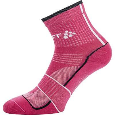Ponožky Craft Ponožky Grand Tour Bike růžová