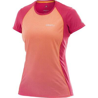 Trička Craft W Triko PR Sublimated oranžová s růžovou