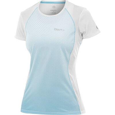 Trička Craft W Triko PR Sublimated bílá s sv. modrou